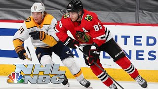 Nashville Predators vs. Chicago Blackhawks | EXTENDED HIGHLIGHTS | 4/21/21 | NBC Sports