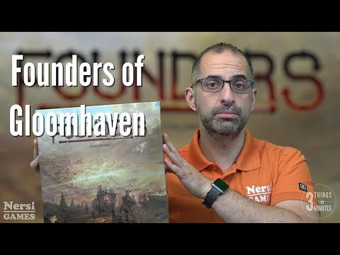 3 Things in 3 Minutes: Founders of Gloomhaven Review