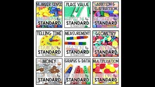 Stations By Standard For Guided Math