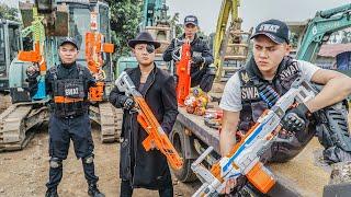 LTT Nerf War : Captain SEAL X Warriors Nerf Guns Fight Criminal Group Dr.Lee Crazy Crossfire Legends