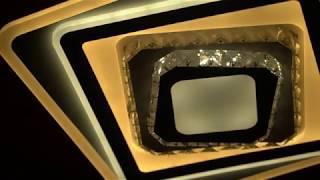 Видео о 7009 - GL led (174W+72W) люстра