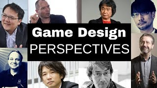 The Design Philosophy Of Famous Game Designers |  Sid Meier, Will Wright, Miyamoto And Kojima