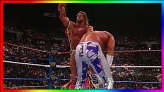 "Ultimate Warrior Vs. ""Macho King"" Randy Savage: WrestleMania VII   Retirement Match"