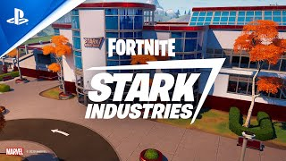 Fortnite - Stark Industries Update | PS4