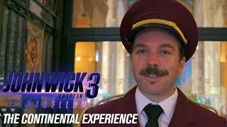John Wick: Chapter 3 - Parabellum (2019 Movie) Exclusive Footage Of The Continental Experience