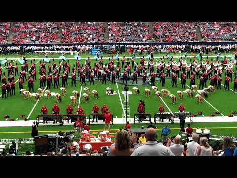 Ole Miss Rebel Marching Band First Halftime Performance Texas Tech Game 2018