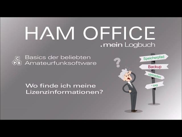 Youtube-Startbild zu HAM OFFICE Basics: Wo Sie die Lizenzinformationen Ihres Programms finden