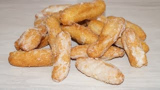 Это Очень Вкусно-Сахарные Пальчики.Простой Рецепт Домашней выпечки