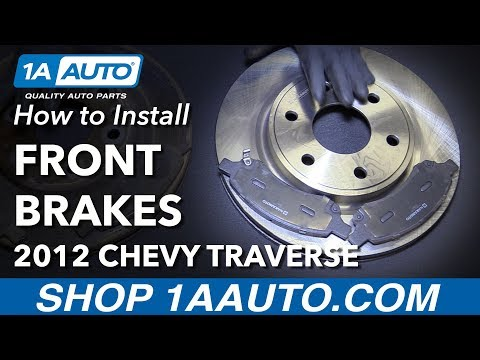 How To Install Replace Front Brake Pads Rotors 2009-16 Chevy Traverse Mp3