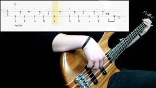 Toto   Rosanna (Bass Cover) (Play Along Tabs In Video)
