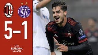 Mission accomplished, we are through: AC Milan v Austria Vienna 5-1