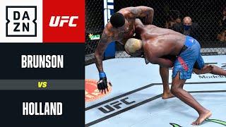 UFC Fight Night: Brunson vs Holland | DAZN Highlights