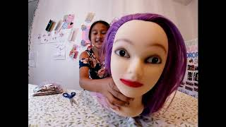 Neverland Beauty Hair Styling Practice Mannequin Training Head Review