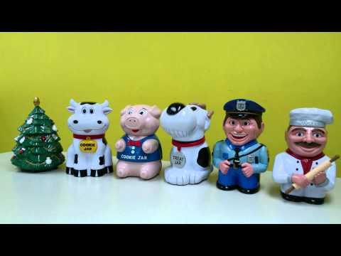 MGD Talking Cookie Jars