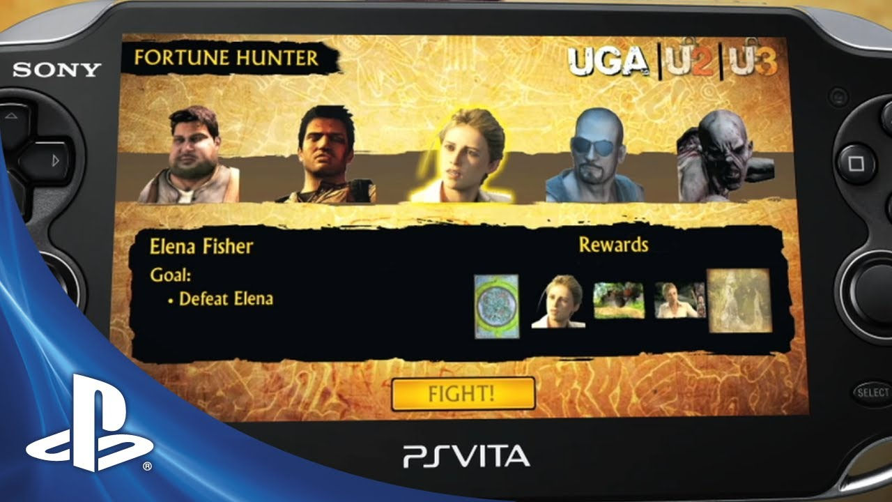 Vita Is Getting A New Uncharted, But It's A Card Game