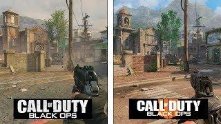Call of Duty Black OPS 4 | Slums Map Evolution | Black OPS 2 vs 4 Comparison