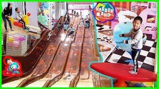 น้องบีม | สไลเดอร์ช็อกโกแลต เล่นสวนสนุก HarborLand เกตเวย์บางซื่อ