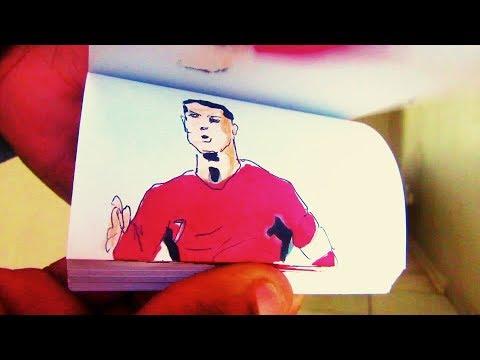 FIFA WORLD CUP 2018 flip book animation BEST GOALS part 1