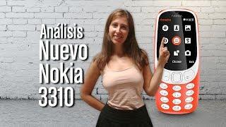 Nokia 3310: Análisis y características de la vuelta a lo retro
