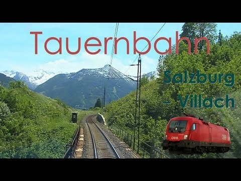 EU 2016: Austria - Cab ride On Tauern Railway