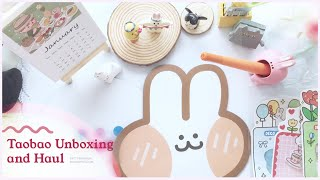Taobao Unboxing & Haul  | Cute Desk Accessories