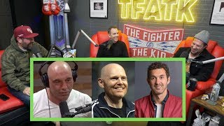 Bert's Partying Sends Mark Normand Home, Bill Burr Stories, and Rogan's Advice