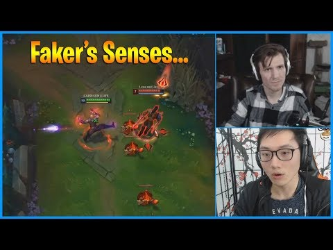 This is The Definition of Faker's Senses Moment in League of Legends...LoL Daily Moments Ep 772