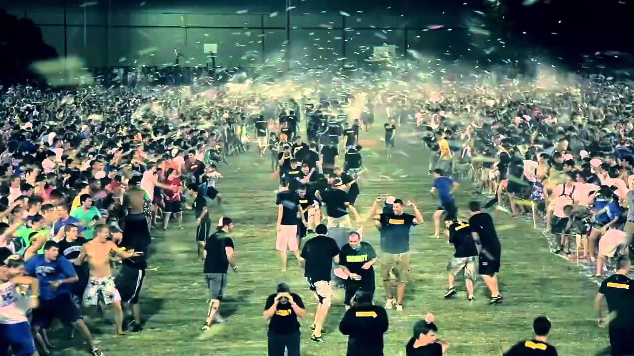 World's Largest Water Balloon Fight  Looks Incredibly Fun