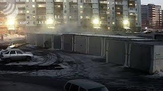 SMOTRIOMSK.RU: пожар в гараже Дмитриева 15, к3 #ЧП, разное
