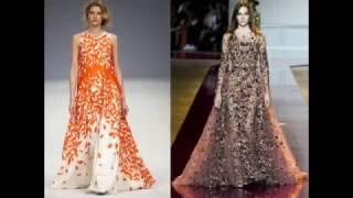 Трендовые платья 2017 - модные новинки стильного мира