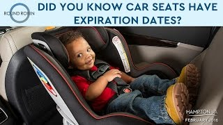 Did you know car seats have expiration dates?