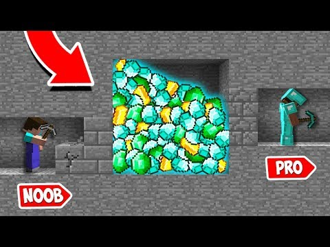 Minecraft NOOB vs PRO : NOOB DIGGING MINE AND FOUND THIS! HOW NOT TO DIG MINE! (Animation)