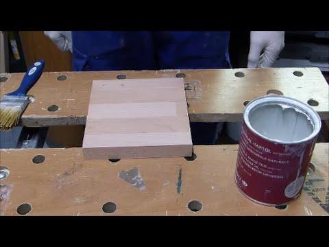 Oberflächenbehandlung von Holzoberflächen, Holz ölen/lasieren