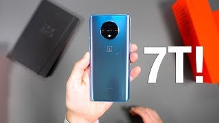 ONEPLUS 7T Unboxing and First Look!