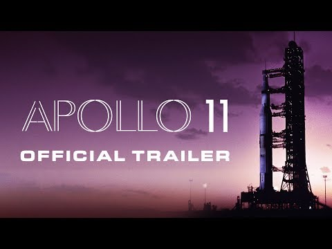 Trailer for Apollo 11 (2019). Upcoming film about The Apollo 11 mission using nothing but archived footage