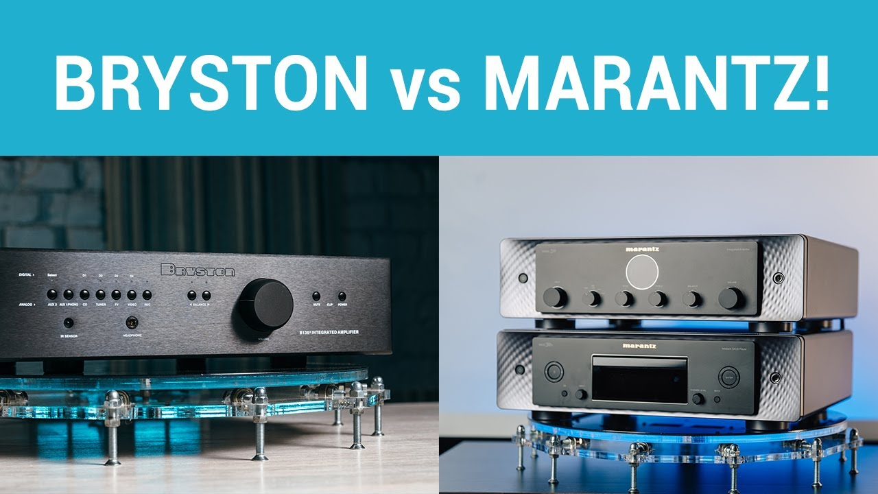 Битва усилителей - Bryston B135-3 vs Marantz Model 30!