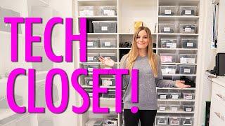 Tech Closet Tour!