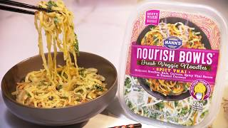 Mann's Nourish Bowls™ - How to Nourish - Spicy Thai Veggie Noodles