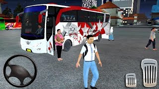 Bus Simulator Indonesia - Parking 3D Simulator - Best Android Gameplay #1