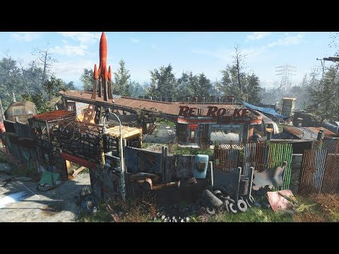 Fallout 4 - Red Rocket Settlement Build