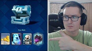 Clash Royale 2.0 с новыми картами и легендарками. Играем в Card Crushers