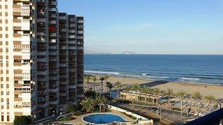 Испания, Сан Хуан, продажа квартиры на первой линии San Juan Playa, недвижимость в Испании у моря