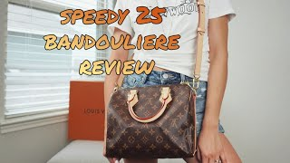 Louis Vuitton Speedy 25 Bandouliere Monogram Review