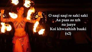 O Saki Saki Lyrics   Batla House   Neha Kakkar   - YouTube