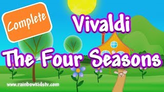 Top songs by Vivaldi ♫ The Four Seasons - Antonio Vivaldi ♪ Classical Music ♫