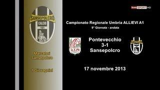preview picture of video 'Ponte Vecchio-Sansepolcro 3-1 (Allievi Regionali Umbria A1)'
