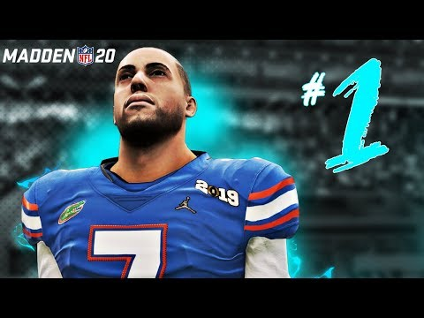 MADDEN 20 Face of the Franchise | CREATION + College Football Playoffs! EP1