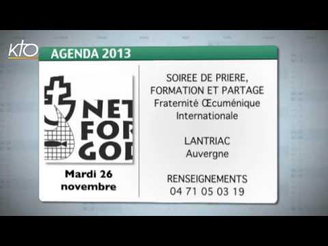 Agenda du 22 novembre 2013
