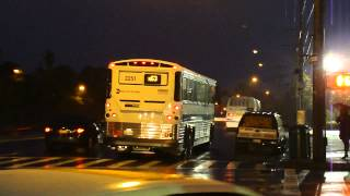 preview picture of video 'MTA New York City Bus: MCI D4500CT #2251 Not In Service @ Springfield and Merrick Boulevards!'
