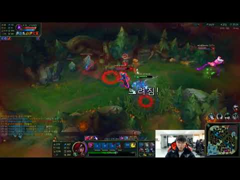 Faker 卡特蓮娜 Outplay